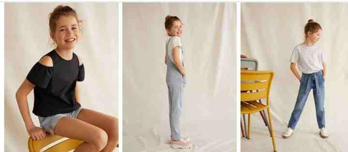 MANGO Kids Çocuk Giyim Sitesi