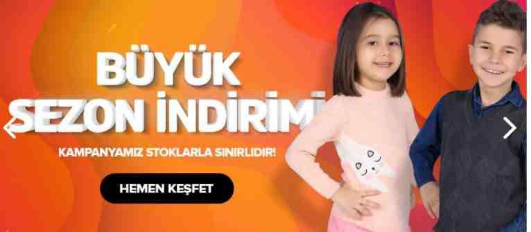 Tozlu Çocuk Giyim Mağazaları Sitesi